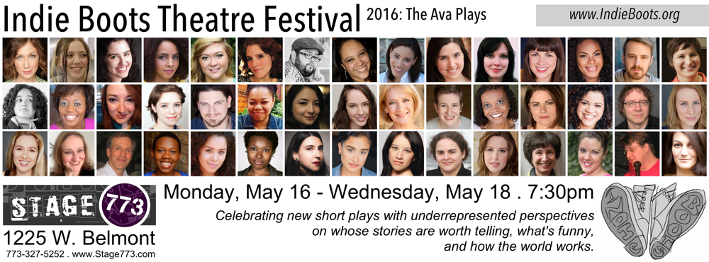 Indie Boots Theatre Festival 2016: The Ava Plays postcard